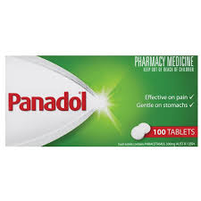 Panadol tablets 100's